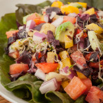 Dulse Salad with Avocado and Tomato