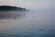 Morning Fog, Flat Calm