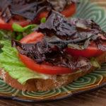 Dulse Lettuce and Tomato Sandwich